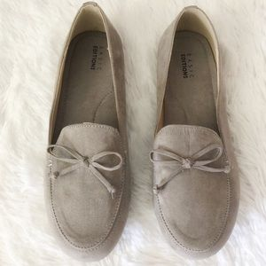 {Basic Edition} Taupe Loafers